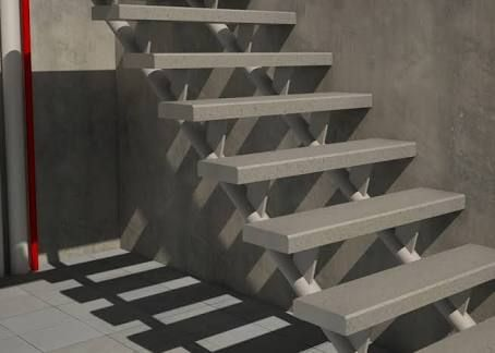 M s de 1000 ideas sobre escaleras metalicas en pinterest for Escalera exterior de 6 escalones