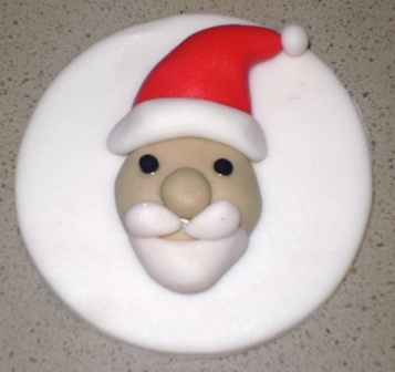 Christmas Father Cupcake Topper