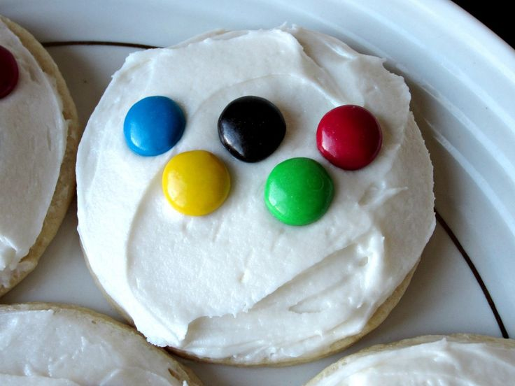 Sugar Cookies (decorated for the Olympics)