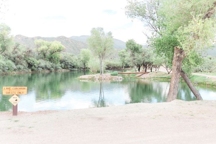 Tanque Verde Guest Ranch Wedding Venue Lake Corchran Bridge Marie Cameron Photography