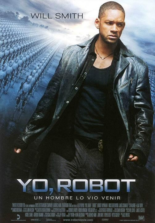 YO ROBOT A película esta baseada na historia dun home, o cal sente un gran desprezo cara aos robots. Desafortunadamente, el vive nunha sociedade na cal está rodeado por eles, xa que todo o mundo sente a necesidade de telos.