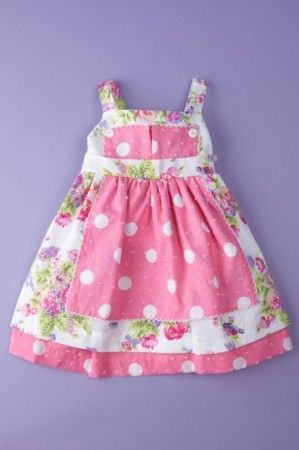 Baby Nay apron dress. One of my fav childrens brands.