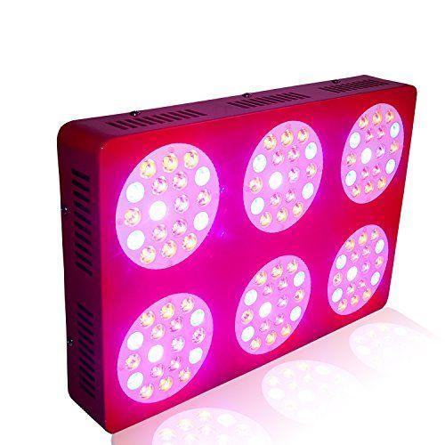 ZNET6 450w HPS Ersatz Professionelle Vollspektrum LED Grow Lampe,LED Pflanzenlampe
