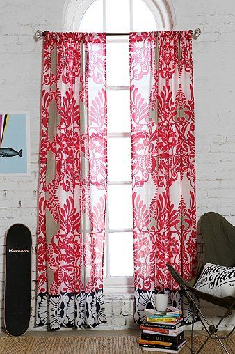 74 best Window Treatments images on Pinterest | Sheet curtains ...