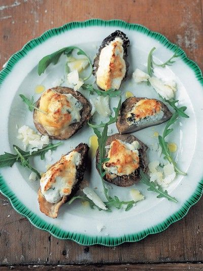 Stuffed Mushrooms | Vegetables Recipes | Jamie Oliver Recipes