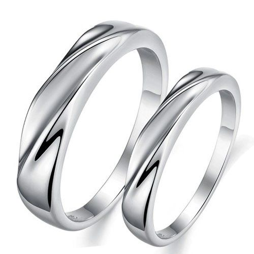 infinity journey forever silver plated mens