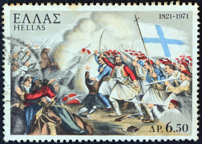 The Greek War of Independence (Greek Revolution) occurred between 1821-1832 when Greek revolutionaries fought for independence against the Ottoman Empire.