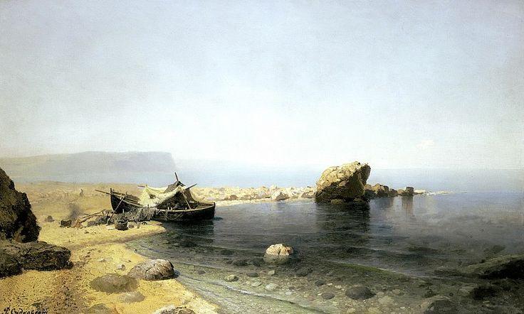 СУДКОВСКИЙ Руфин - Прозрачная вода. 900 Картин самых известных русских…