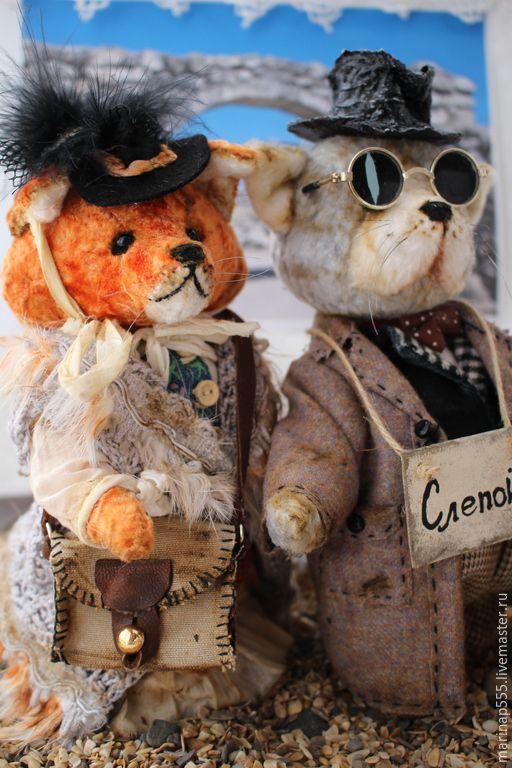 Купить Лиса Алиса и Кот Базилио - рыжий, лиса игрушка, кот, лиса Алиса