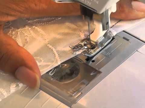 Sewing Darts into Lace Fabric.  A FREE article, guide and online fashion sewing video tutorial, only at http://www.fashionsewingblog.com
