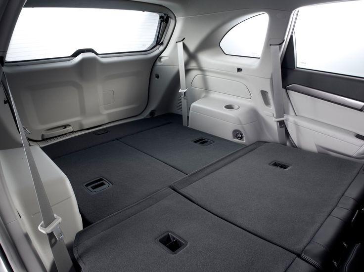 2013 Chevrolet Captiva 4X4, car, interior, rear seats, trunk, wallpapers