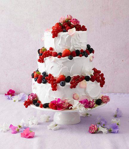 Torten: Eine dreistöckige Torte zum 60. Geburtstag - BRIGITTE
