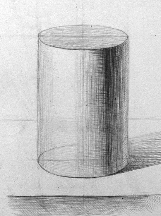 Рисунок цилиндра.