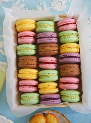 macaroonsSoul Food, Sweets Treats, French Macaroons, Gluten Free, Pastel Colors, Bridal Shower, French Macarons, Neon Macaroons, Baby Shower