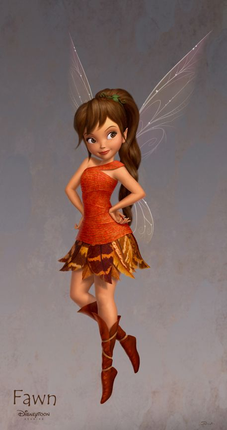 Fawn from the Disney movie The Neverbeast. My favorite of all the Tinkerbell movies.