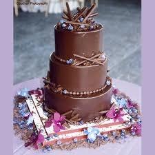 Mi tarta nupcial ideal: de chocolate