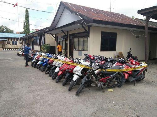 31 Sepeda Motor Curian Terjaring Operasi Sikat Lipu di Selayar
