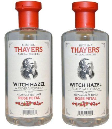 2-Pack-Face-Toner-Rose-Petal-Witch-Hazel-with-Aloe-Vera-12-oz-Alcohol-free-New