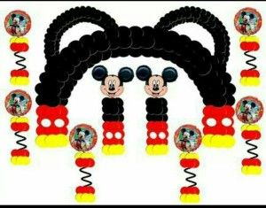Ideas para Fiesta Cumpleaños de Mickey Mouse - Curso de organizacion de hogar aprenda a ser organizado en poco tiempo