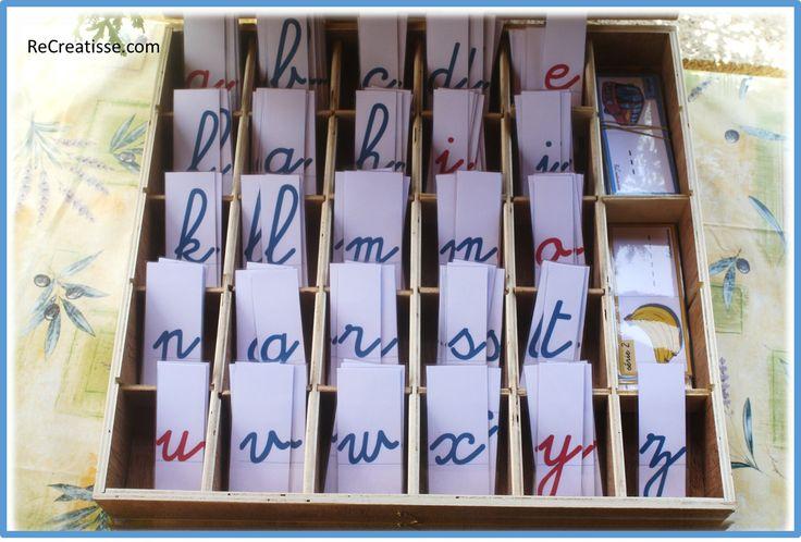Mots + lettres mobiles