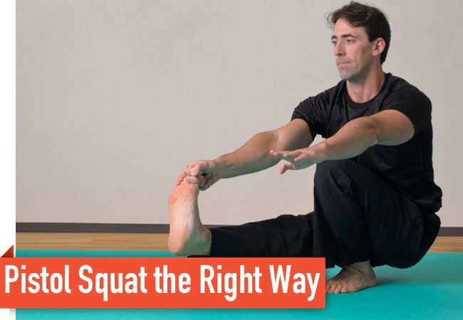 Good progression strategy for those of us who lack the ability to execute a pistol squat.