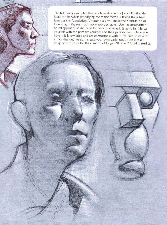 Michael hampton  figure drawing - design and invention