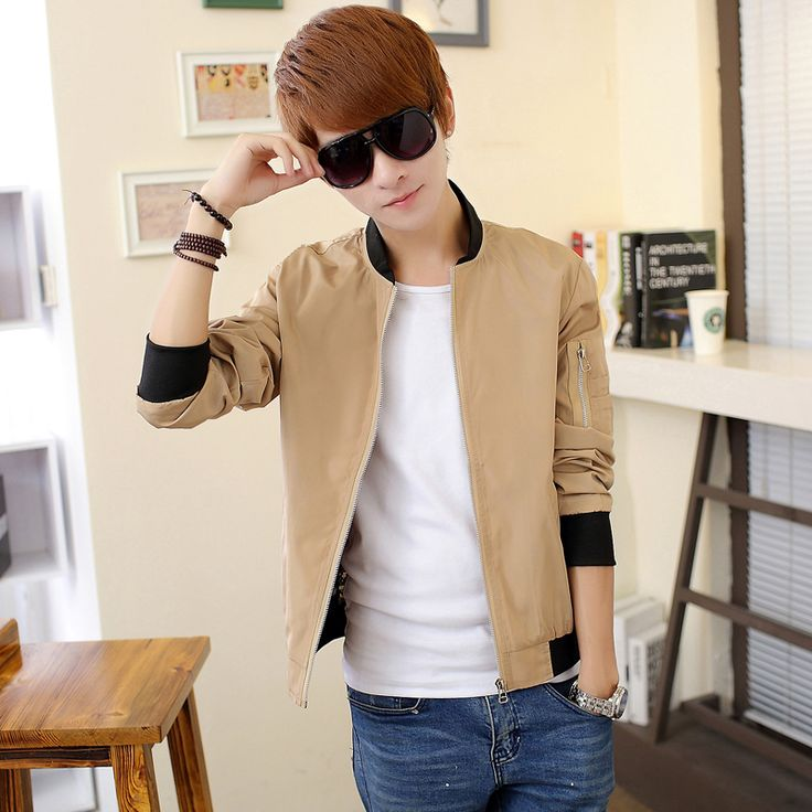 Find More Jackets Information about 2015 Spring Jacket Men Fashion Slim Fit Casual Mens Jackets and Coat Stand Collar Cotton Outdoor Men's Clothing Retail Promotion,High Quality jackets online,China clothing sleepwear Suppliers, Cheap clothing model from E-Express on Aliexpress.com