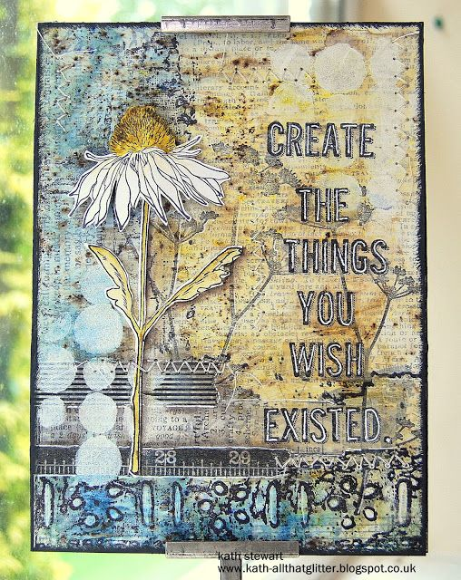 Kath's Blog......diary of the everyday life of a crafter: Flora and Fauna...