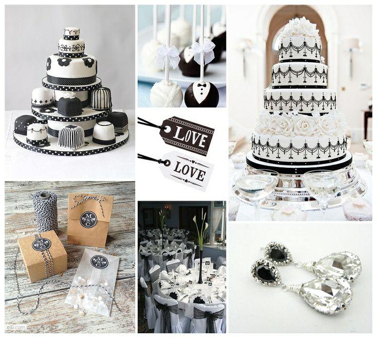 Monochrome Wedding Theme...