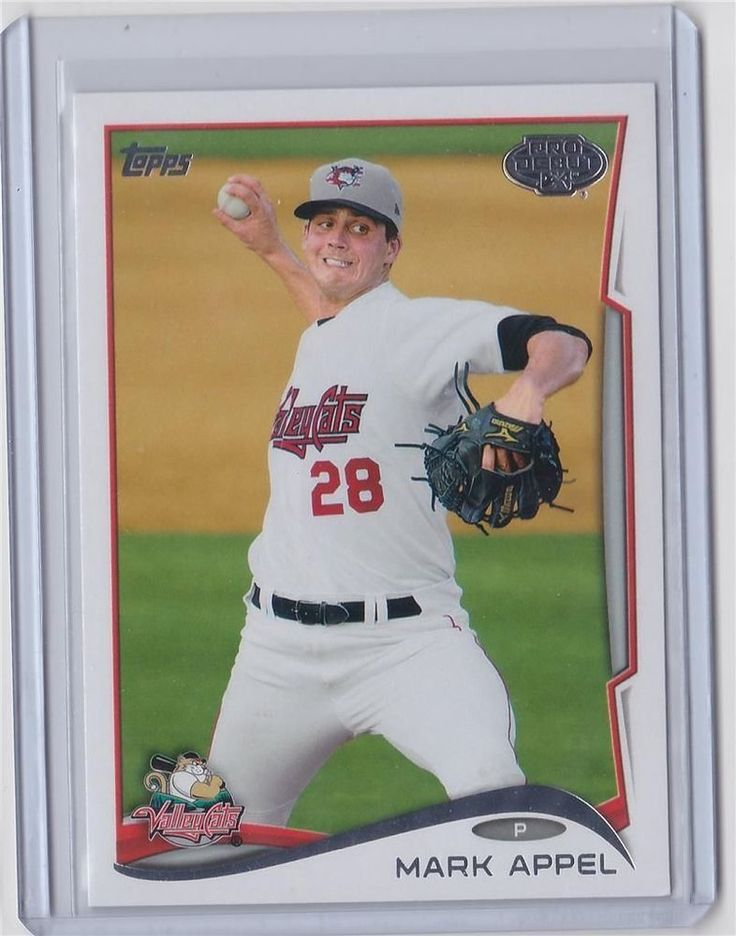 Mark Appel 2014 TOPPS PRO DEBUT ROOKIE #50 Valley Cats    MINT FROM PACK  #MarkAppel2014TOPPSPRODEBUTROOKIE50Valley