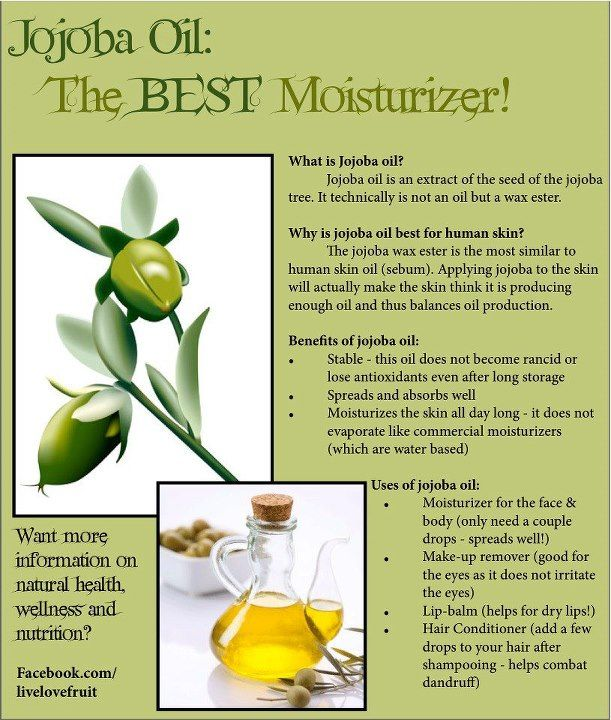 Jojoba oil, can also use as oil cleanser for cystic/hormonal acne