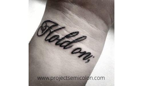 20 Creative semicolon tattoos that prove punctuation can be beautiful: Semicolon tattoos