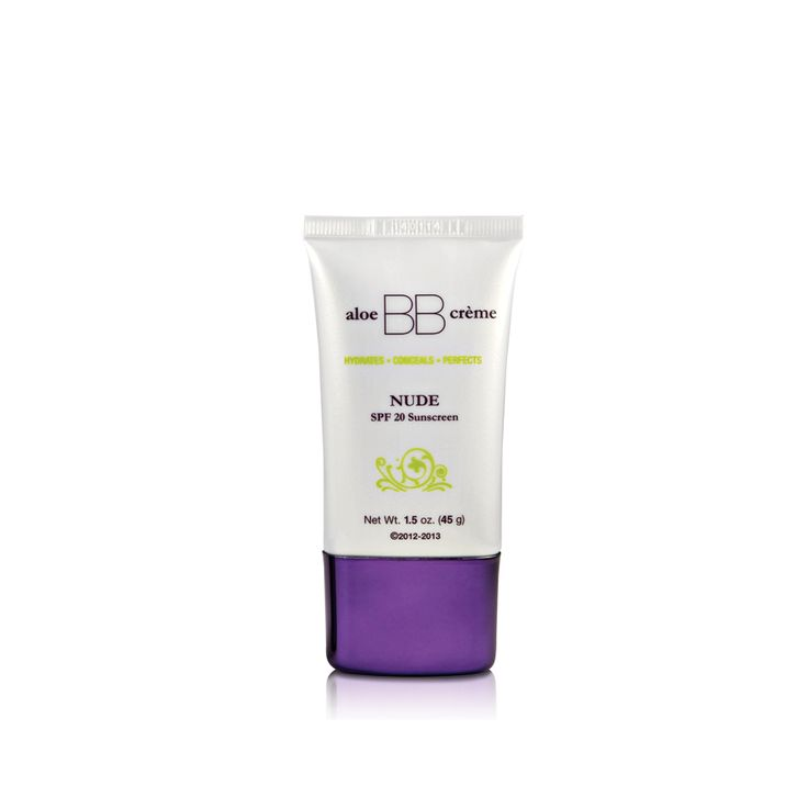 aloe BB cr?me Nude with SPF 20 was created exclusively for flawless by Sonya? to hydrate, prime, conceal and offer sun protection creating a soft, luminous glow, leaving the skin looking natural and flawless.