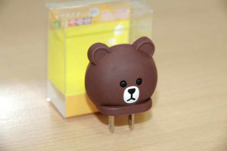 USB Charger Character Brown Rp 50.000