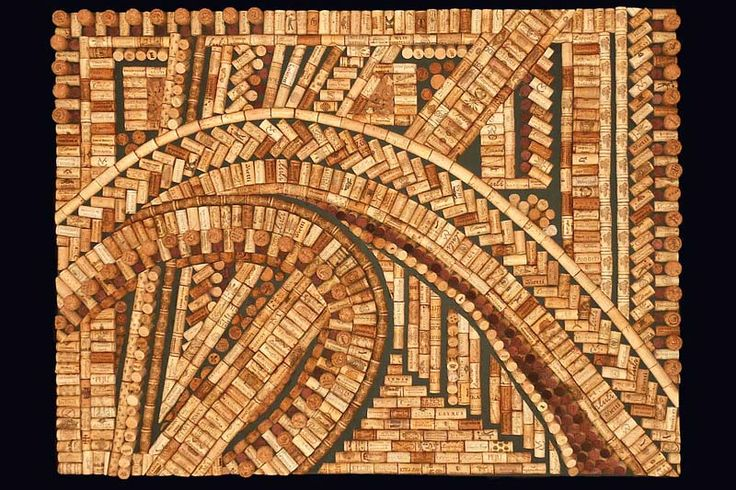ok, I'm going to need to step up my wine drinking just a bit.  --custom wall art by Wine Cork Designs