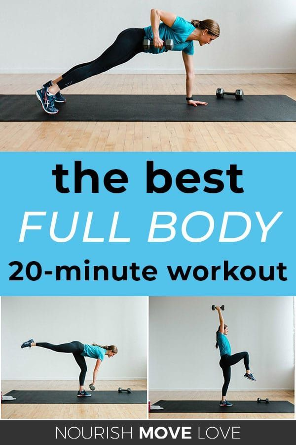 20 Minute Full Body Hiit Workout For Women 20 Minute Workouts