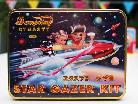 Junior Star Gazing Kit: Stars Gazing, Dumplings Dynasty, Retro Tins, Stars Gazer, Gazer Wuwu, Bellakoola Kids, Gazer Kits, Design Blog, Gazing Kits
