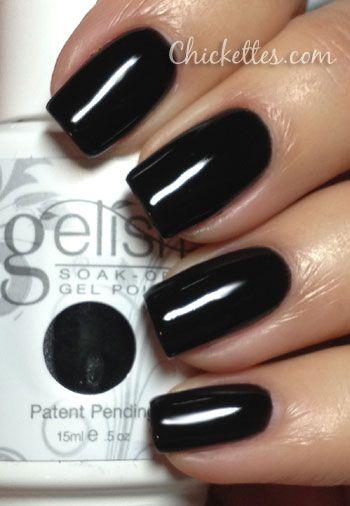 Gelish Black Shadow Swatch