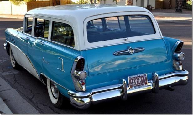 1955 Buick Centry Estate Wagon