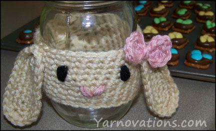 Crochet Bunny and Easter Snacks for Kids
