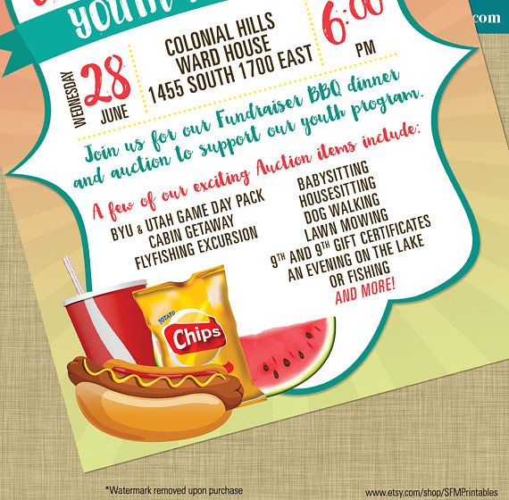 7 best summer posters and flyers images on pinterest school hot dog fundraiser dinner bbq invitation poster spring template church youth group school community goods stopboris Gallery