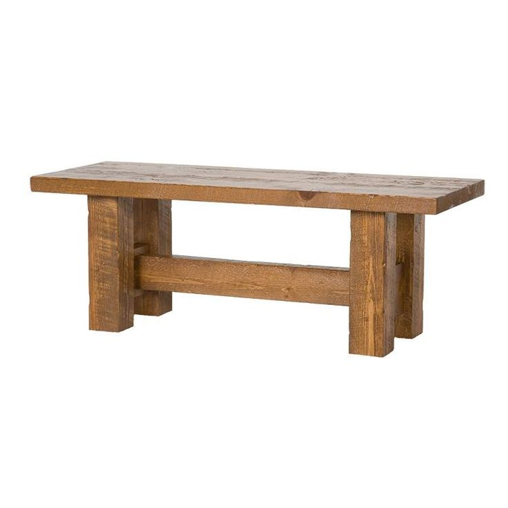 Barnwood Dining Bench