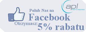 Zapraszamy do polubienia Nas na Facebook: https://www.facebook.com/APLhealthandhappiness Jeszcze przez 2 tygodnie możesz otrzymać rabat w wysokości 5 % za zakup w sklepie www.apl-zoo.eu