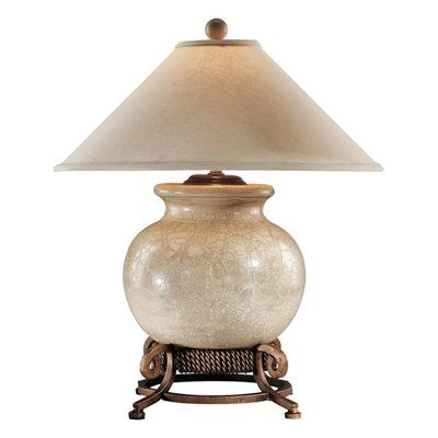 Wildwood 10719 Table Lamp Antique Crackle Porcelain