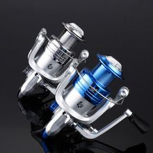 2 Color 1000-6000 8BB Ratio 5.2:1 Carp Reel spinning fishing reel full Metal Line Cap with Grapphite Spool Tackle Spin Carp