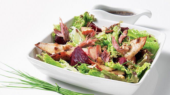 Salade de betteraves marinées de Josée di Stasio