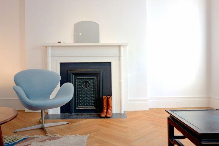 White oak herringbone pattern wood floor mill direct for Mill direct hardwood flooring