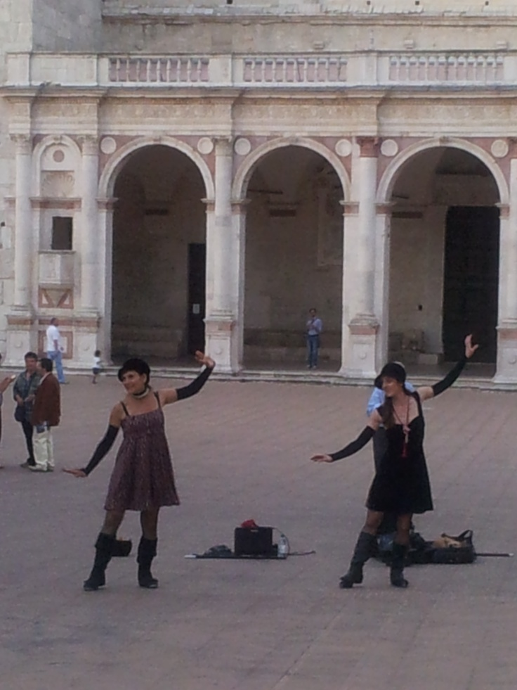 Dancing for history