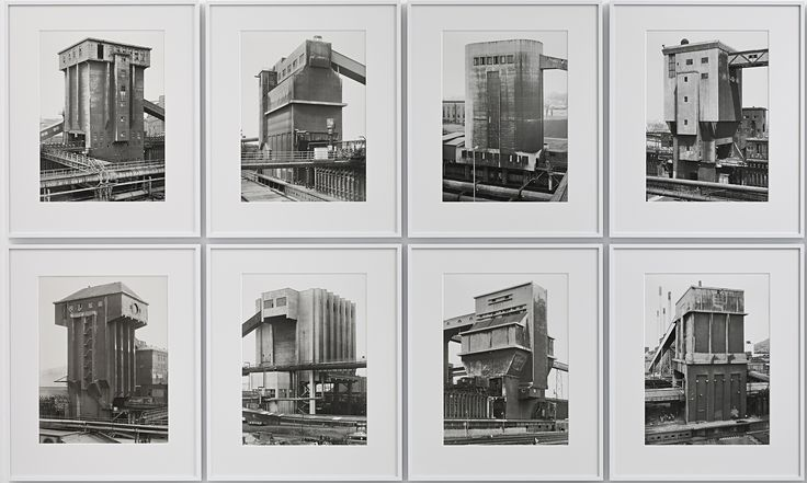 Lost world: Bernd and Hilla Becher's legendary industrial photographs | Art and design | The Guardian