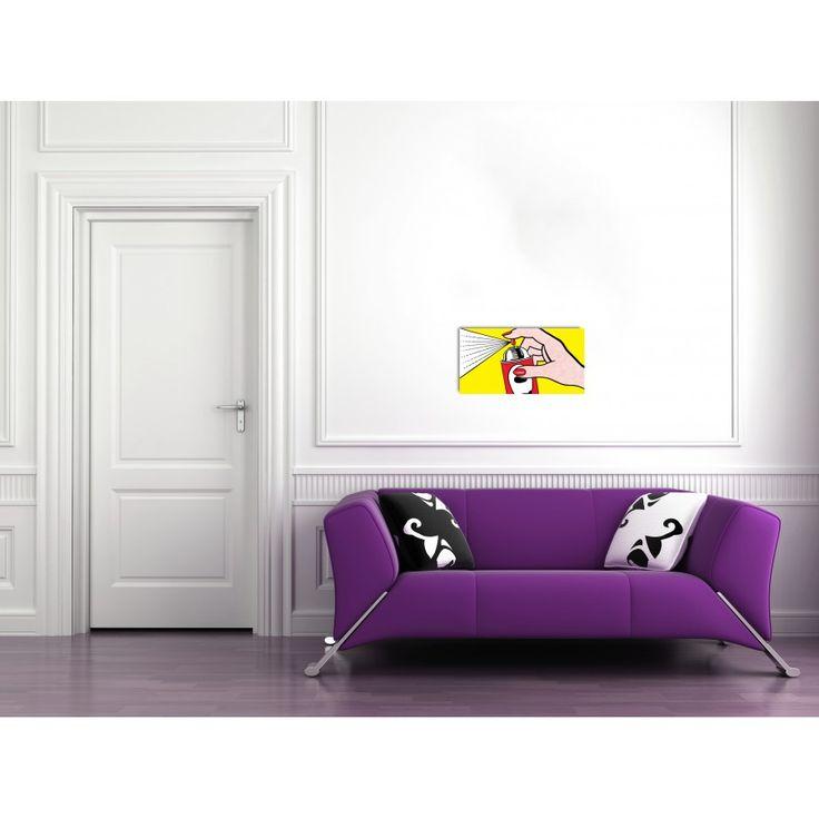 LICHTENSTEIN - Spray,1962 72x38 cm #artprints #interior #design #art #print #iloveart #followart #artist #fineart #artwit  Scopri Descrizione e Prezzo http://www.artopweb.com/autori/roy-lichtenstein/EC19675